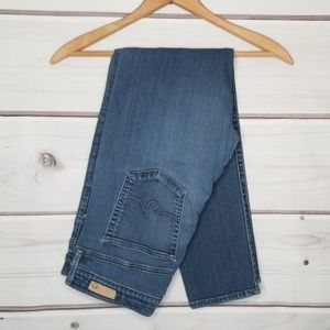 AG High Rise Stevie Ankle Jeans Size 32R